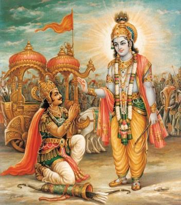 Krisna_instruisant_Arjuna